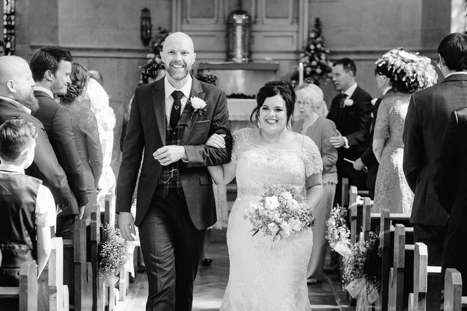 Essex wedding photography from the church wedding.