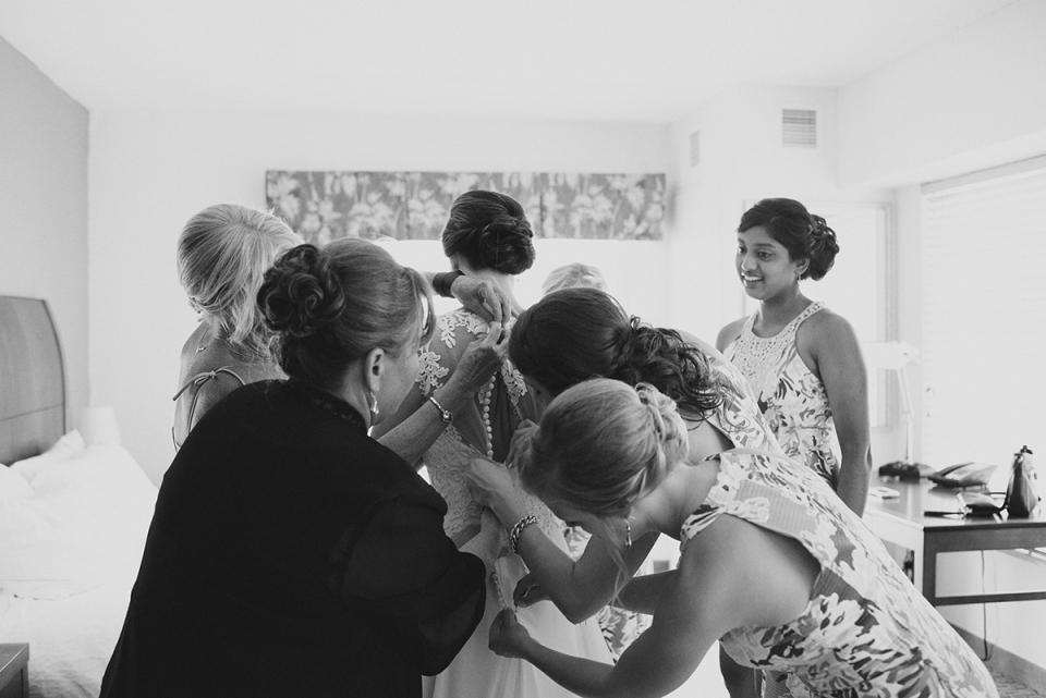 Kitty Hawk Hochzeitsfotografie von Neil GT Fotograf