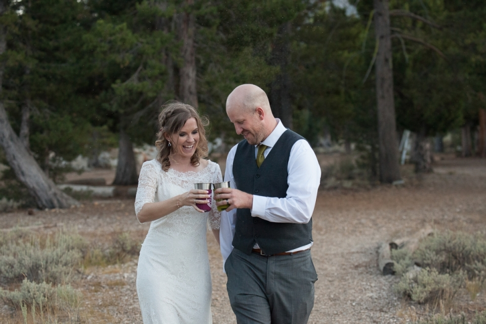 Lake Baron Wedding Photography in South Lake Tahoe California