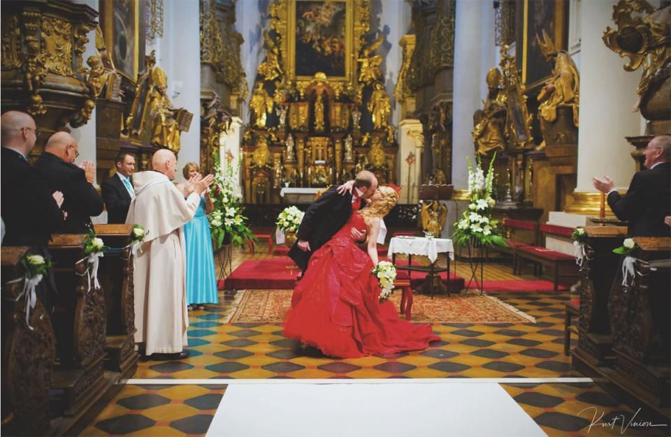 Opinie klientów dla fotografa ślubnego z Pragi, Kurta Winiona