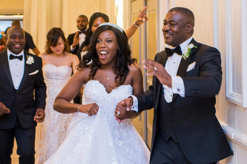 Nigeriaanse trouwfotografie in de Westminster Cathedral