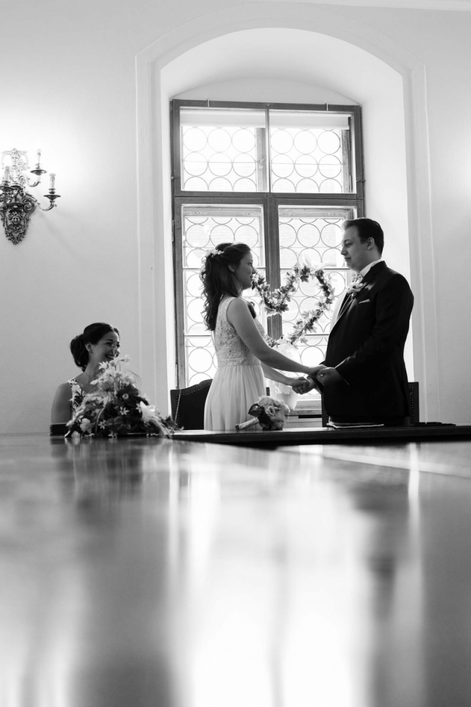 Wedding Photography from the Ceremony at the Registry office Füssen, Germany