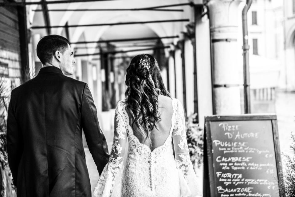 Italian wedding reportage in Cesena
