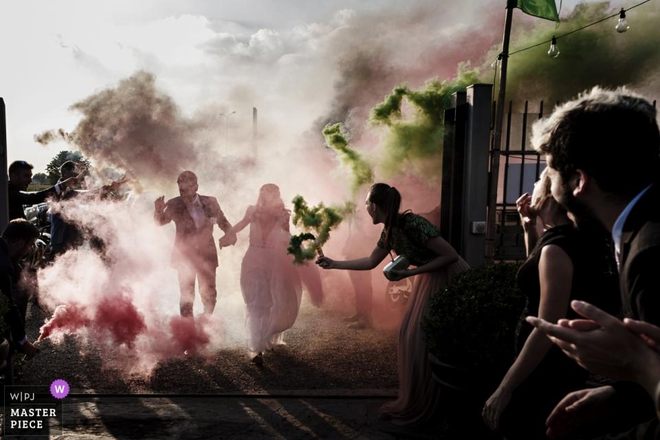 Matteo Reni, van Varese, is een trouwfotograaf voor ITALIË - Green Garden Carate Brianza