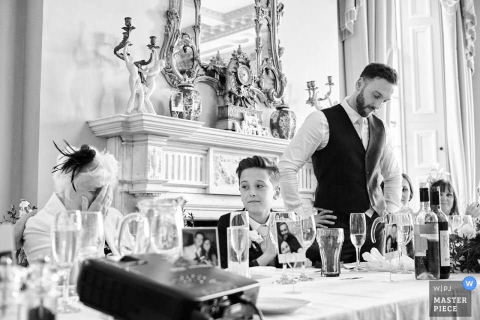 Prestwold Hall, Leicestershire, UK - Leicestershire Wedding Speech Photography