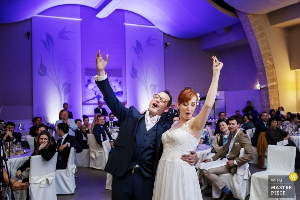 Mazara, Trapani - Mahara Hotel Wedding Reception Photos of the spouses at the wedding reception