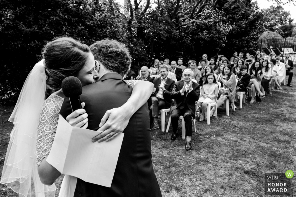 Fon de Rey, Pomerols, France | Outdoor venue photography during Emotional ceremony