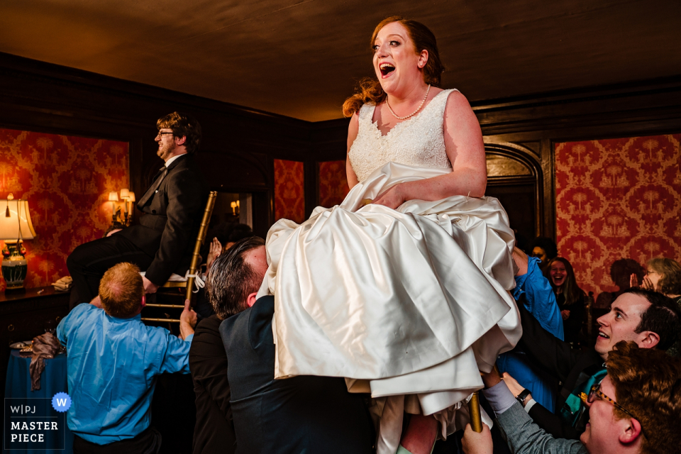 Die Pratt Mansions - NY   Hora Tanz Hochzeitsfotografie