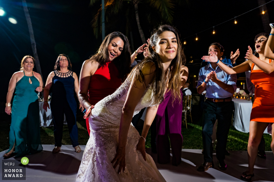 Marriot CasaMagna, Puerto Vallarta Mexico. | The bride and her mom dancing the night away.