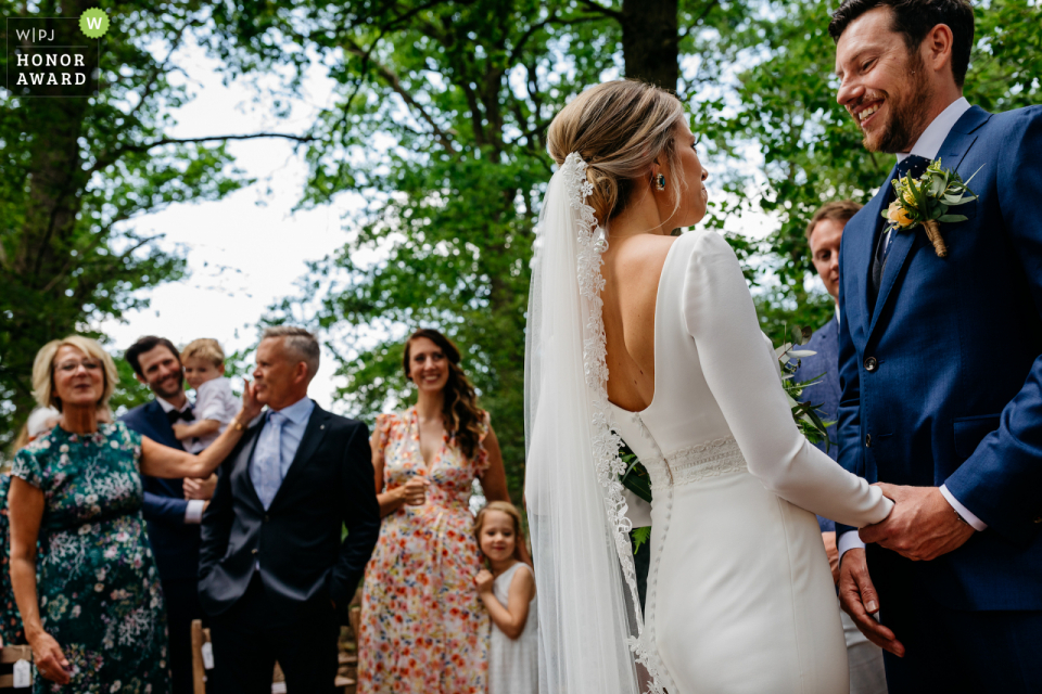 Erfgoed Bossem outdoor ceremony photo