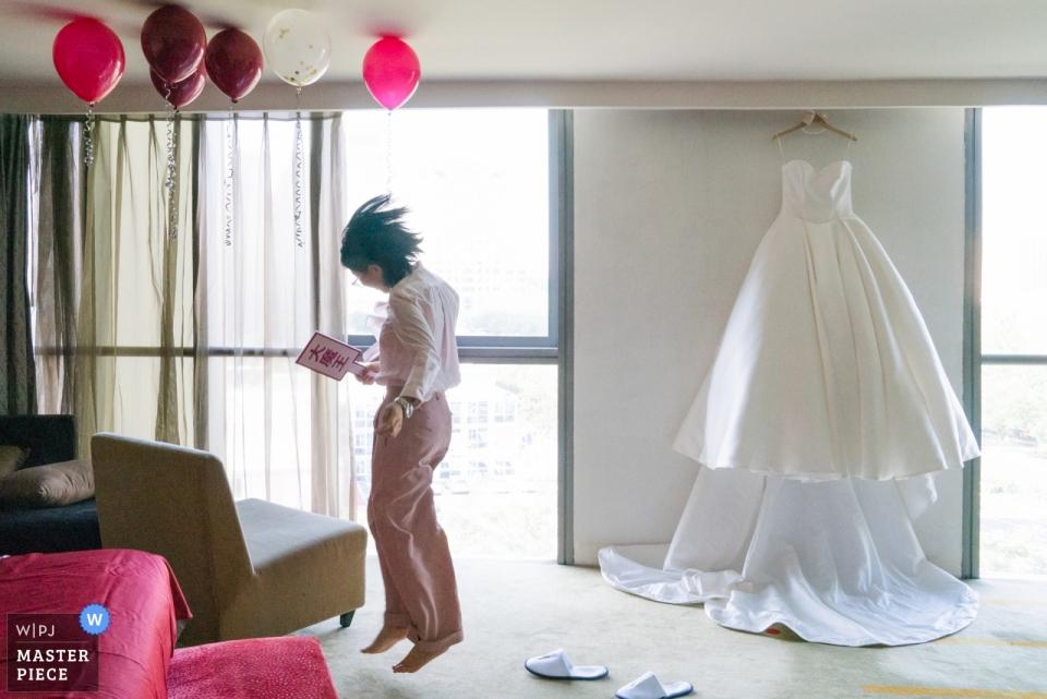INTERCONTINENTAL BEIJING BEICHEN - Photographie de demoiselles d'honneur et de robes de mariées