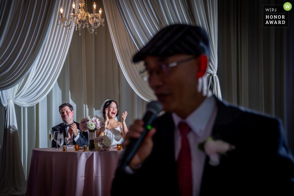 Londonhouse, Chicago lieu de mariage photographie du discours de réception