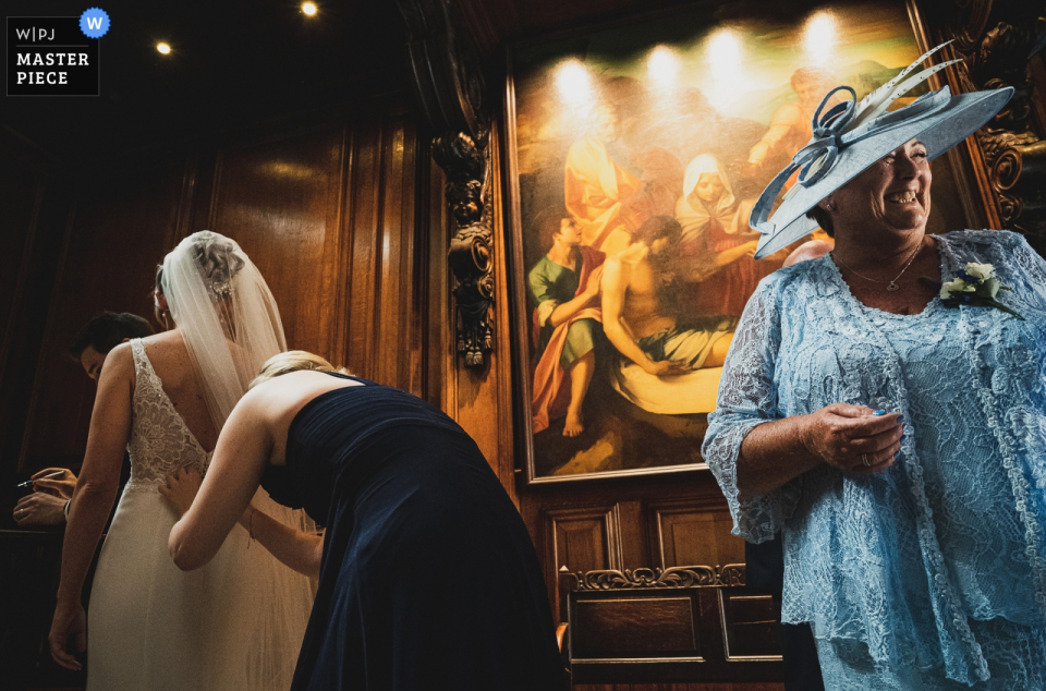 Richard Galloway, of Surrey, is a wedding photographer for -