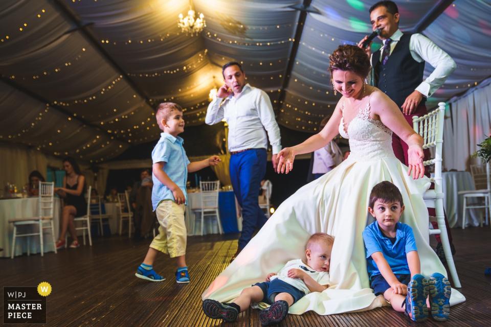 Boni Bonev, of Sofia, is a wedding photographer for