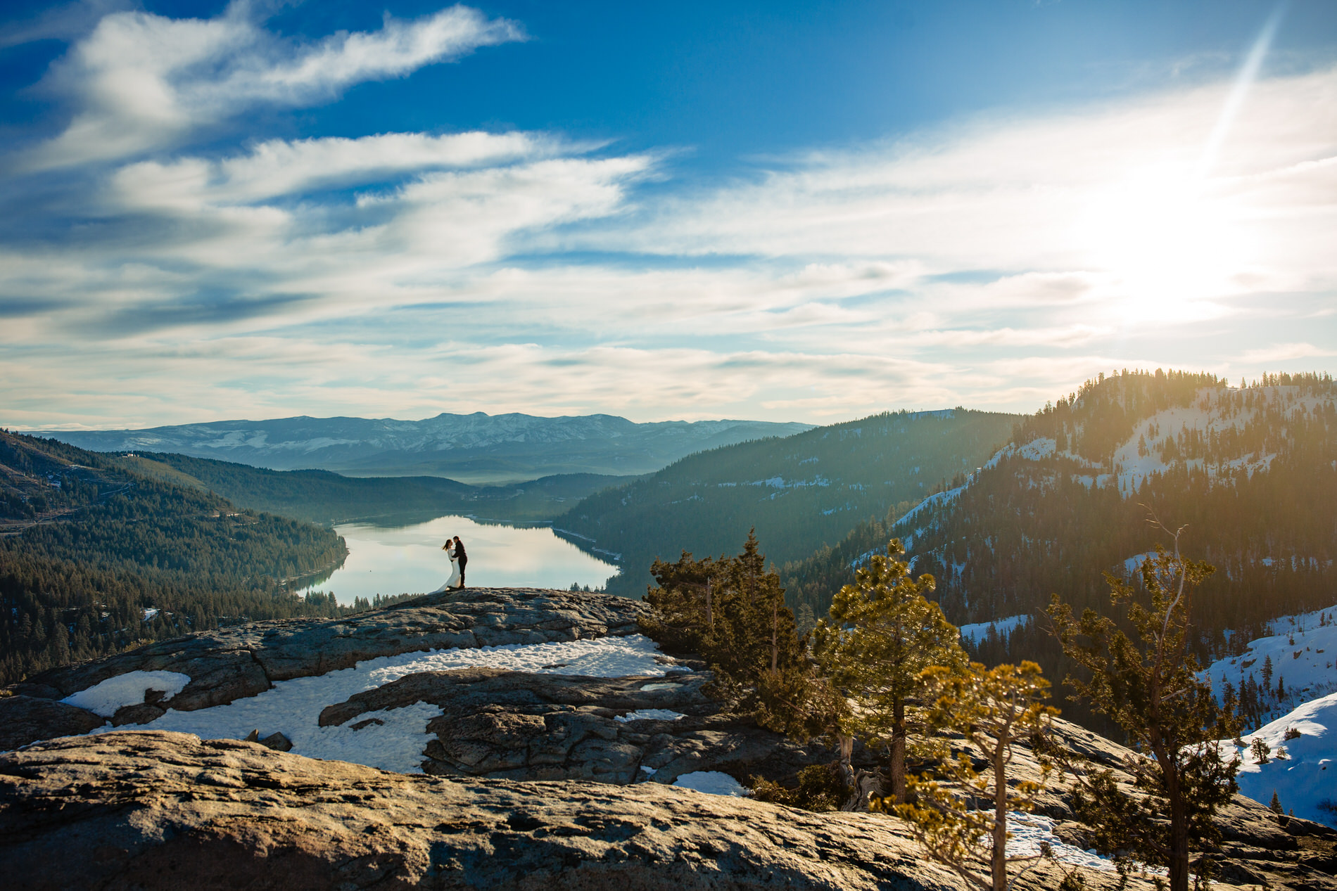 Truckee, CA Elopement Photography at Donner Summit, CA -