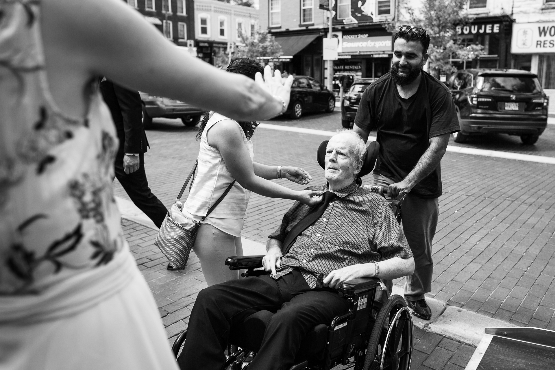 Ontario, Canada Elopement Photo | It was very important for the bride to have her father attend the ceremony