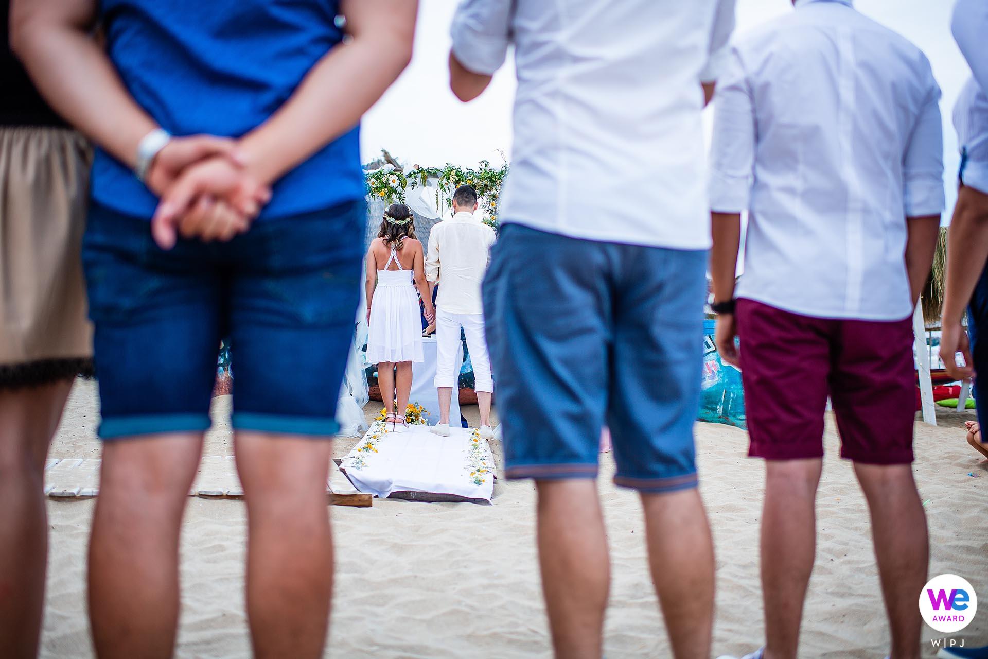 Smokinya Beach, Sozopol, Bulgaria Elopement Photography Story | a fun, low-key beach party at Smokinya Beach
