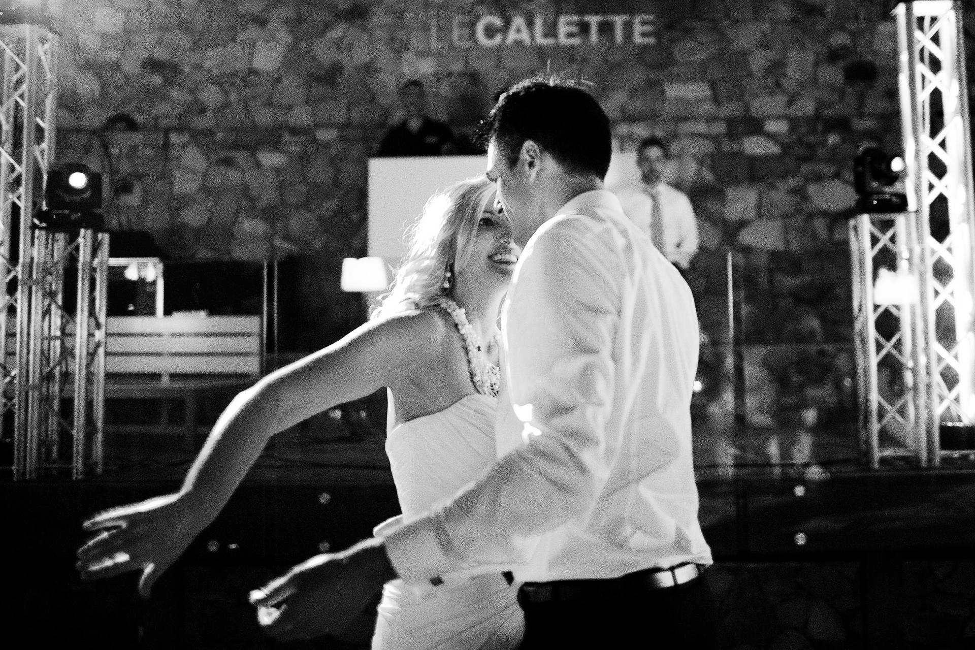 Immagine prima danza coppia sposi Sicilia primo ballo come marito e moglie