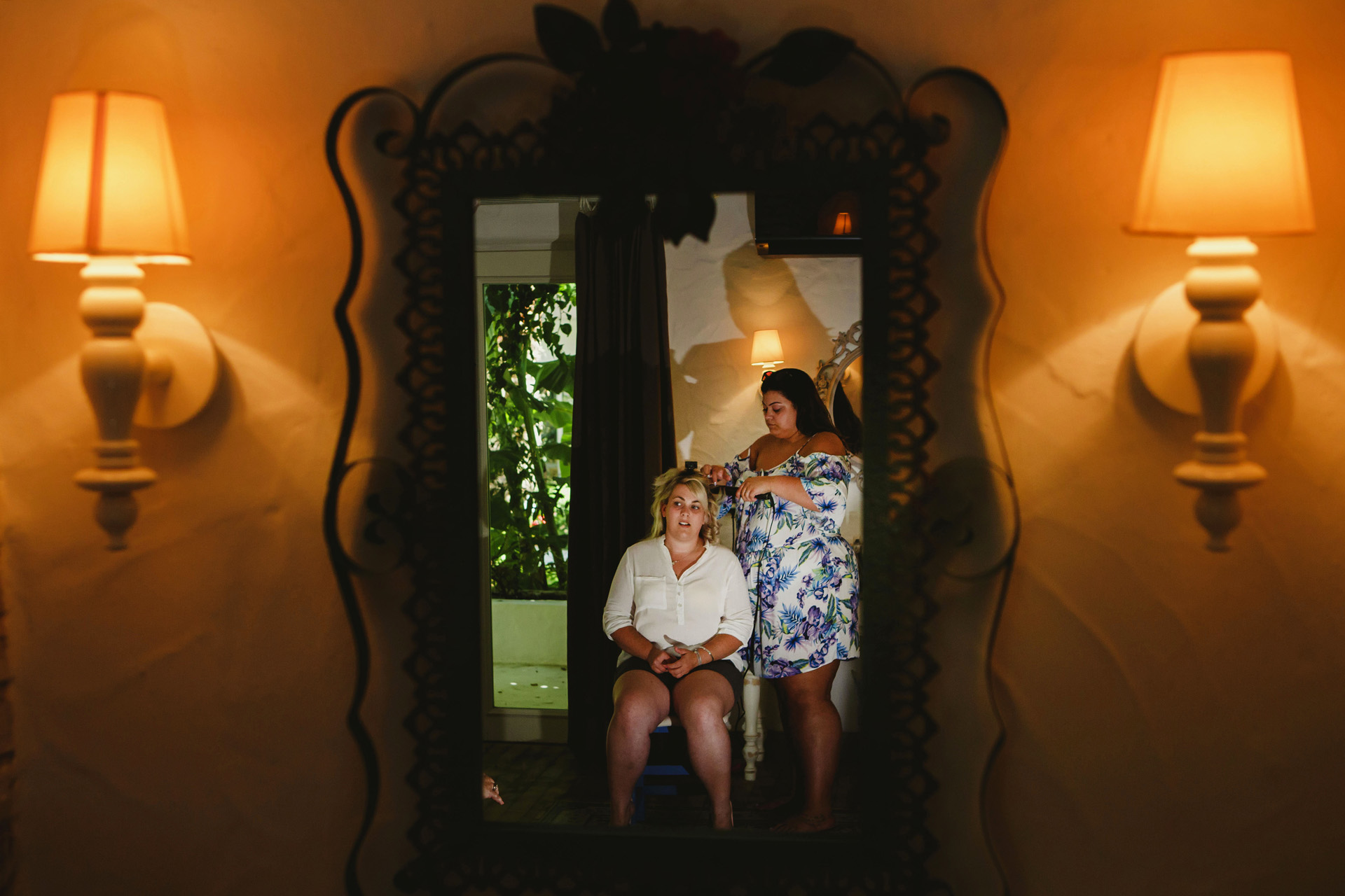 Oludeniz, Fethiye, Turkey Elopement and Wedding Photos | The balconies of the rooms and its garden resembling a tropical forest are really extraordinary