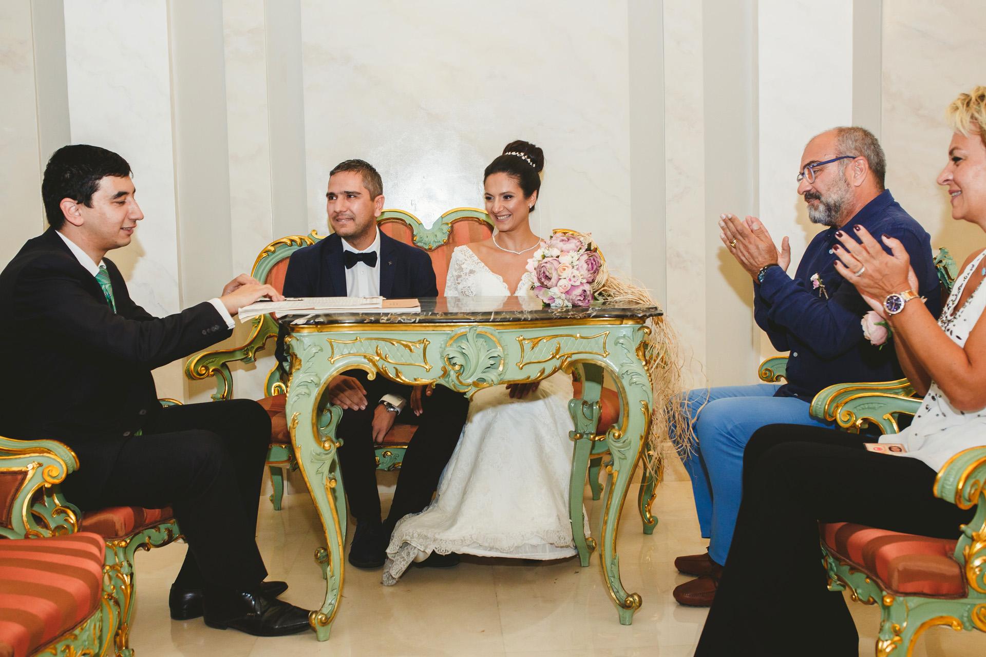 Ambassade de Turquie à Belgrade - Cérémonie d'élimination Image | La cérémonie de mariage officielle
