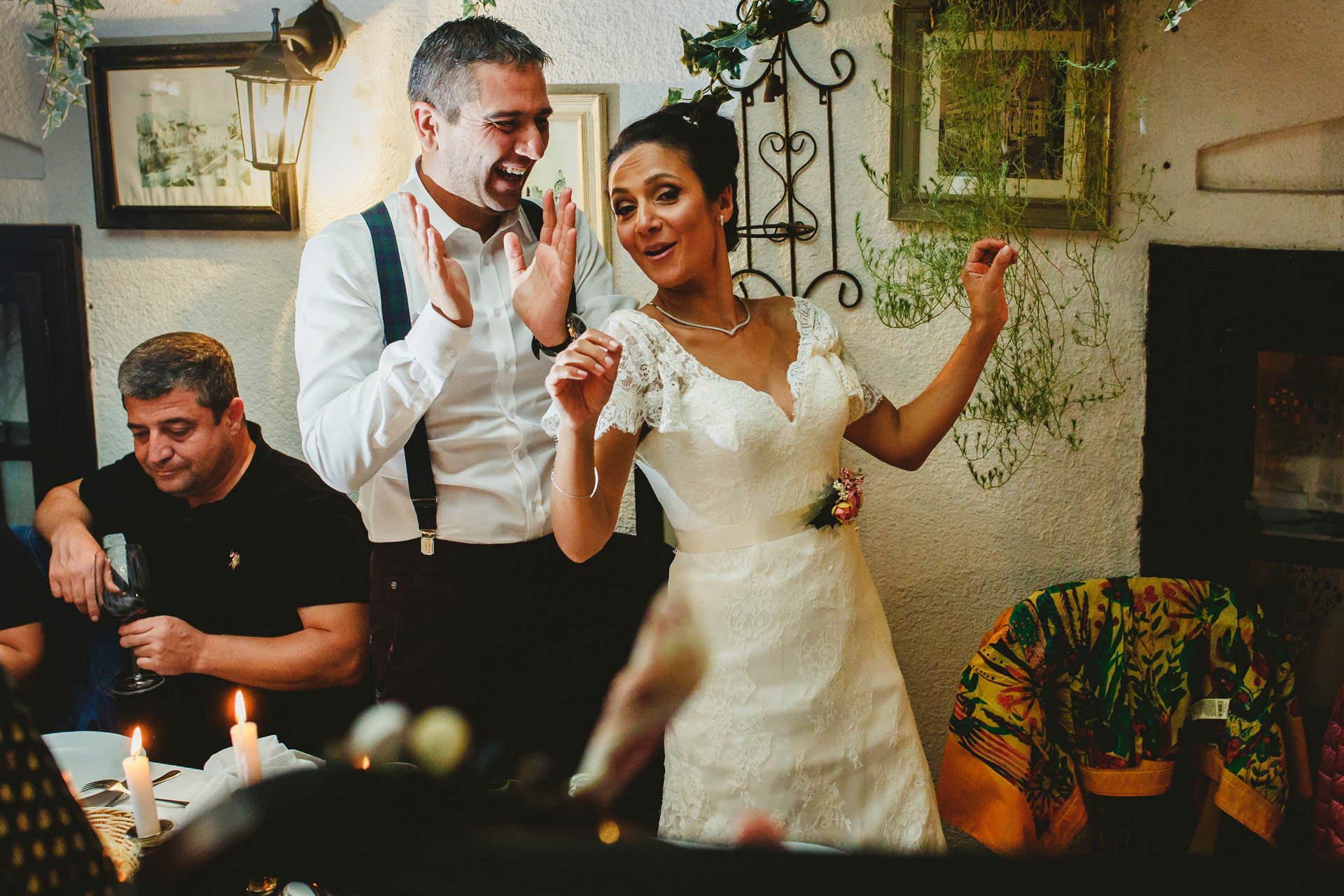 Skadarlija, Belgrade, Serbia Wedding Photography | all the people could dance like they did at home