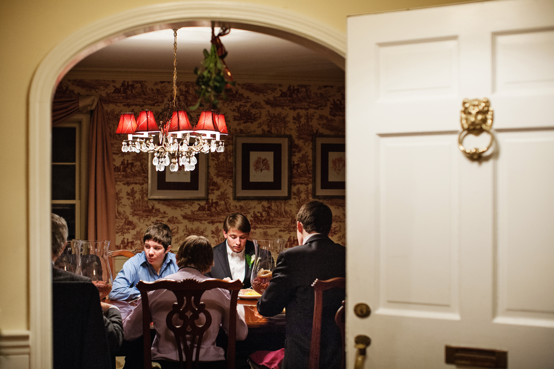 Photographie de réception d'accueil de New Jersey Elopement | leurs grands-parents se marient à nouveau