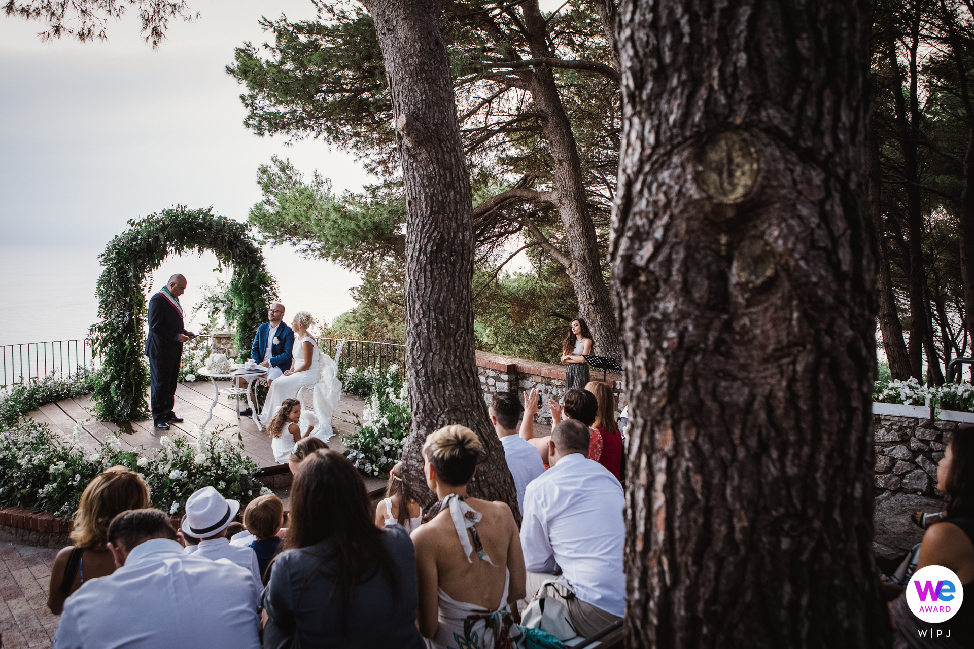Capri Island - Italy Elopement Photographer | This is the kind of poetry the couple saw in Gelsomina to Anacapri
