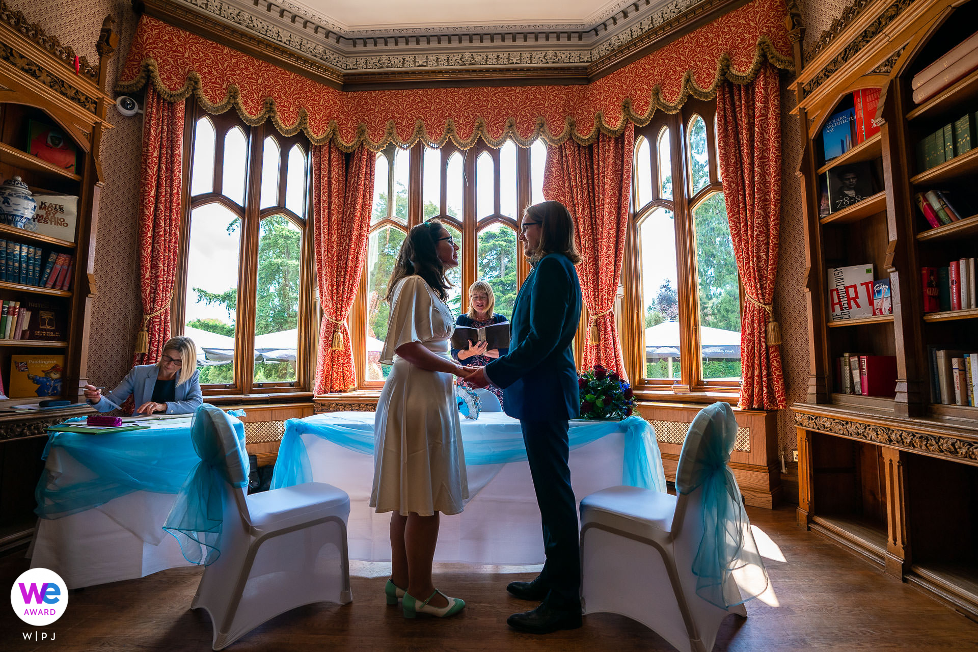 The Oakley Court, Windsor, Berkshire, United Kingdom Ceremony Elopement Image | This is where the Rocky Horror Show was filmed in 1975