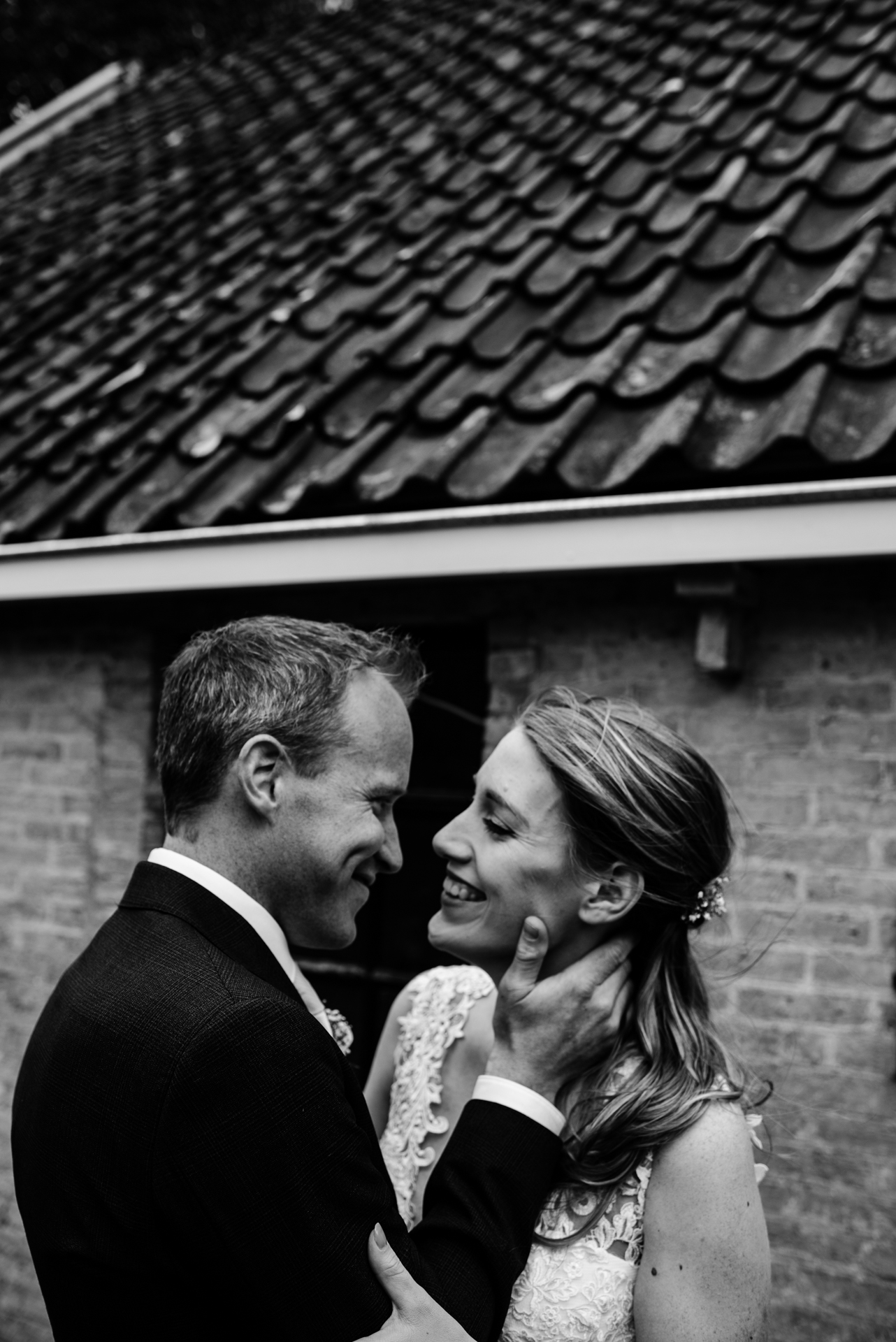 Oranjewoud, NL Elopement Picture | the privacy certainly made for a more intimate and romantic atmosphere