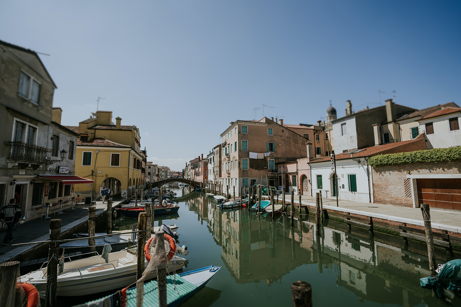 Chioggia, Venice Elopement Photography of Italy | This is the town of Chioggia where they got married