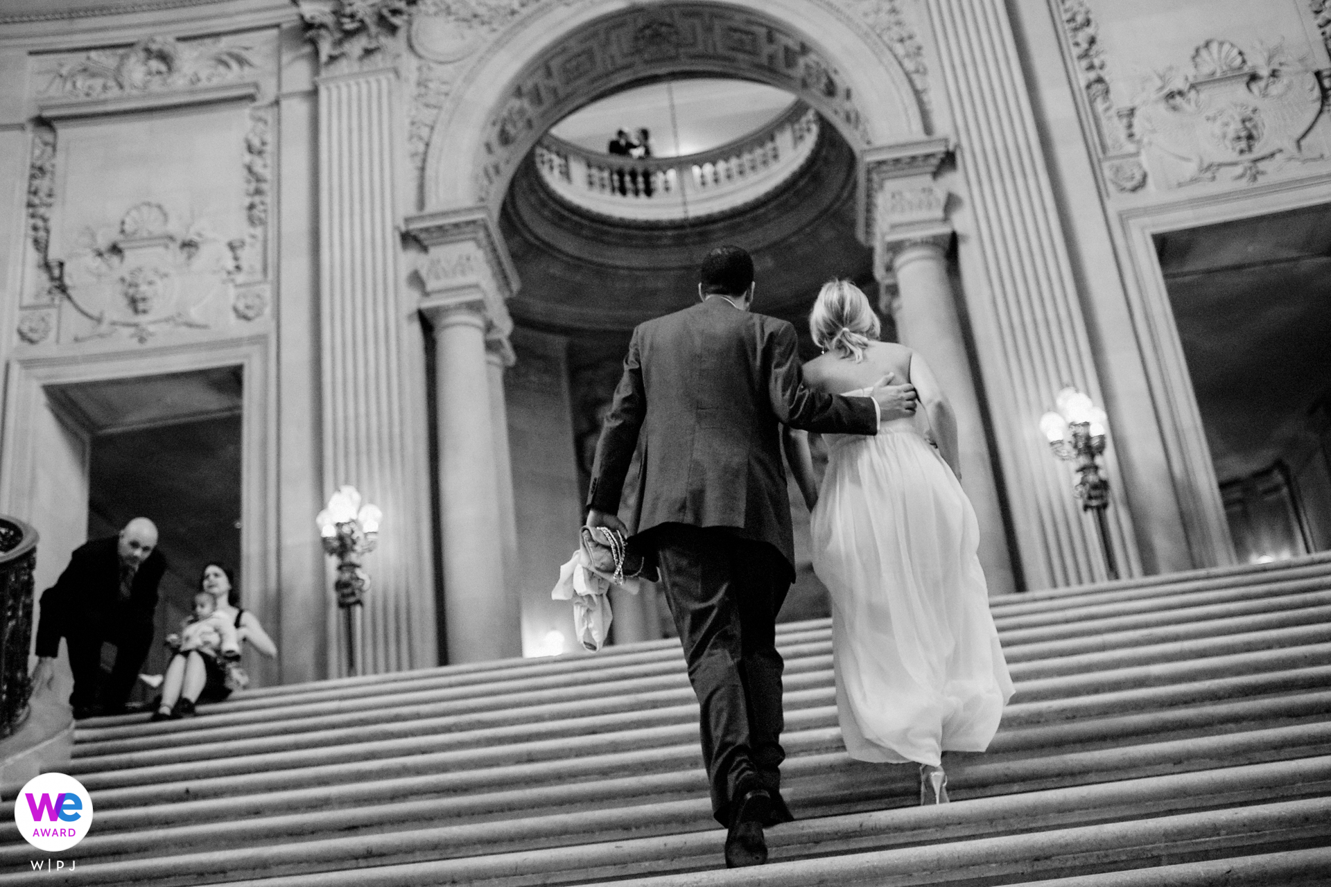 San Francisco Civil Marriage Elopement Picture Story Award   This couple enjoyed a romantic and sweet wedding at the San Francisco City Hall