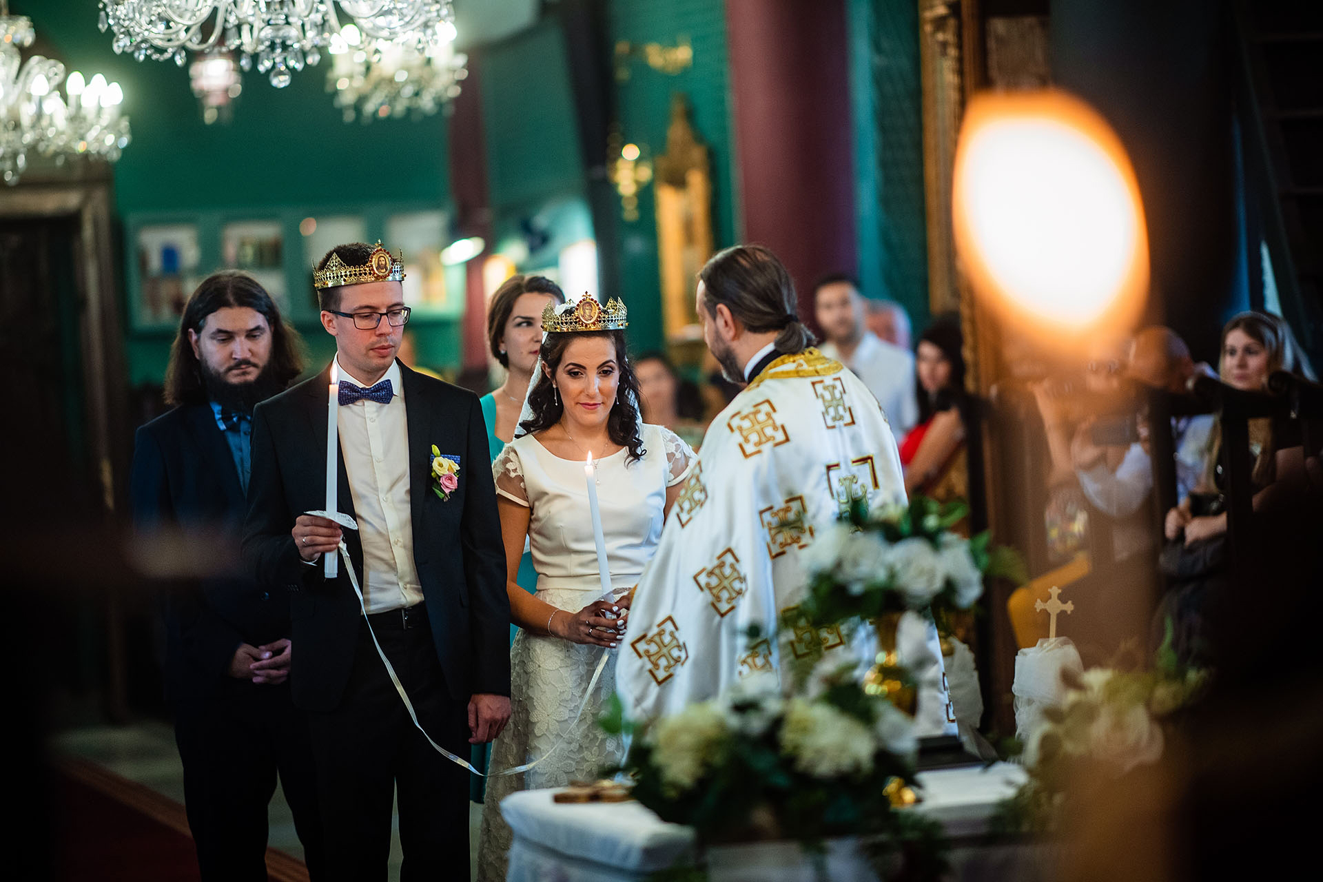 Bulgaria Church Elopement Pictures | the couple is married in a church