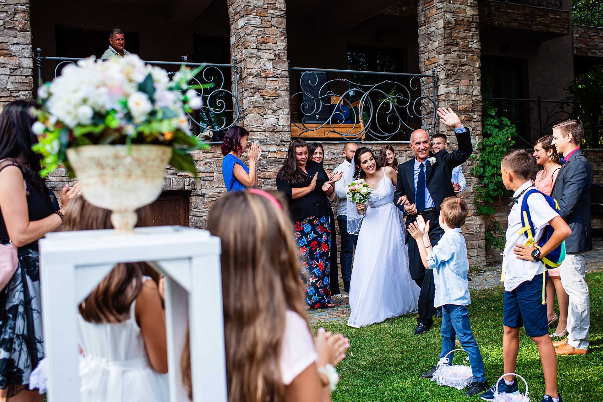 Bulgaria Outdoor Elopement Civil Ceremony Photographer | The second ceremony is held in the outdoors
