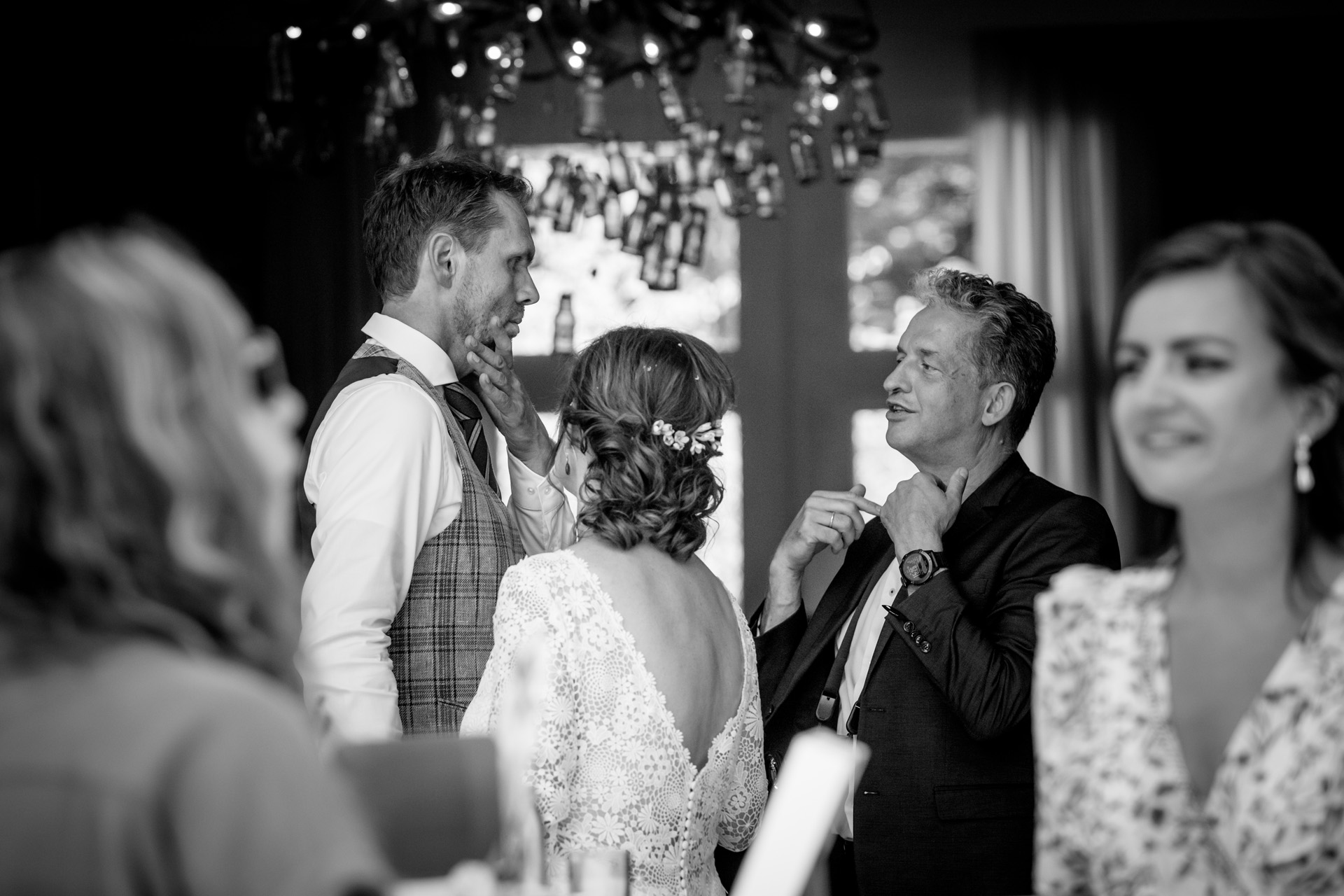 Netherlands Elopement Photographer | the groom gets some last-minute advice