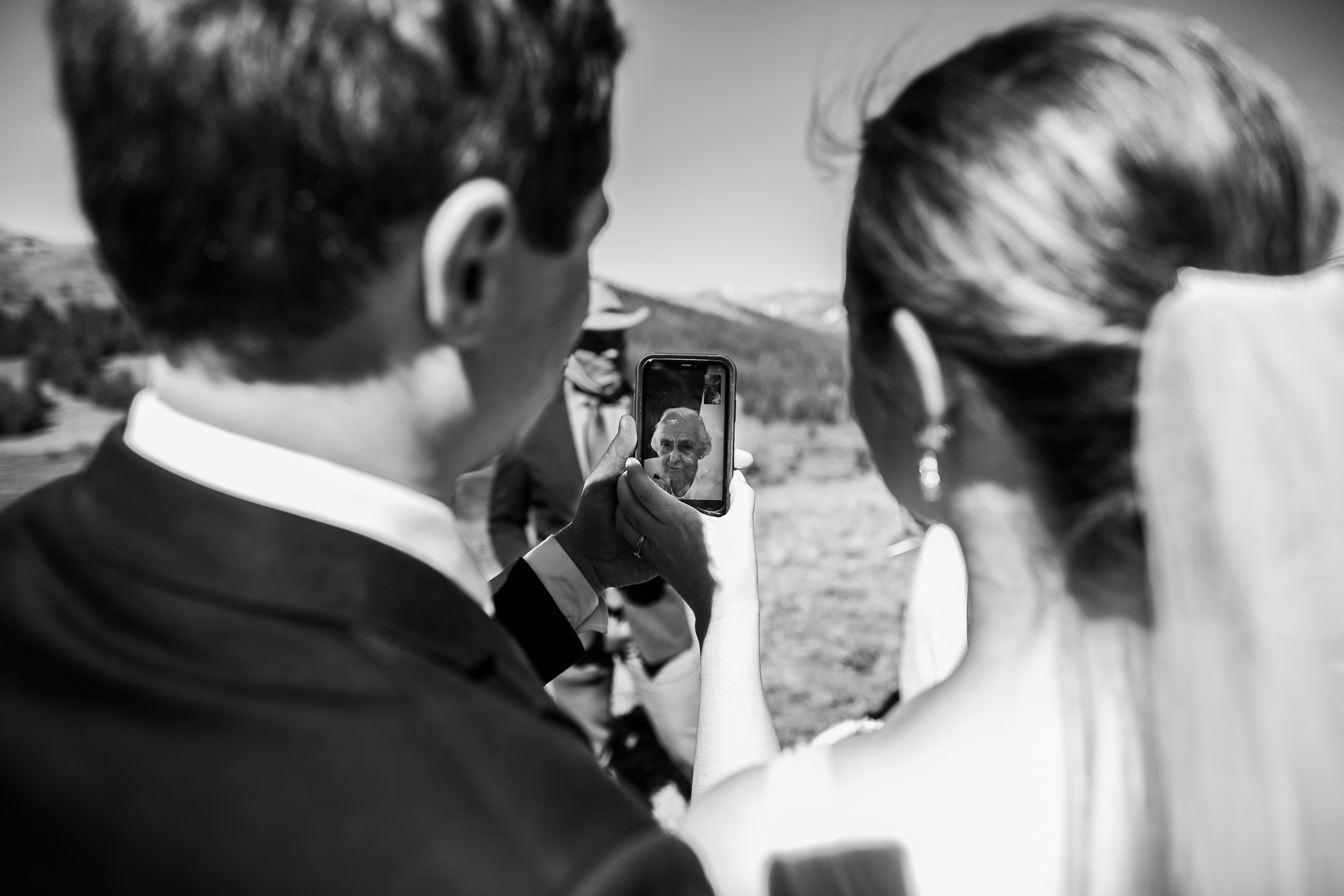 Colorado Elopement Photography and Adventure Weddings | Grandma was definitely the guest they missed the most