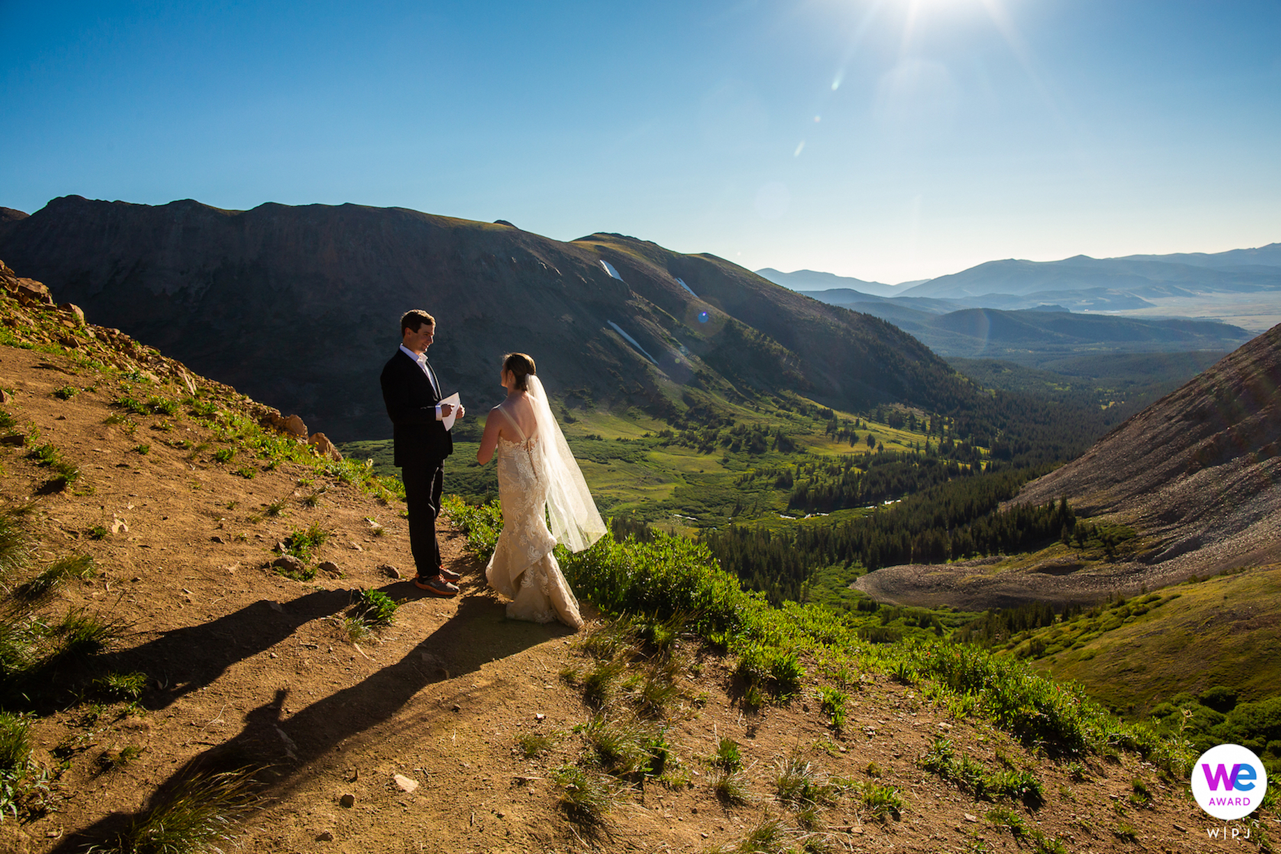 Boreas Pass, Colorado Elopement Photography | we met up on Boreas Pass, and promptly started walking straight uphill