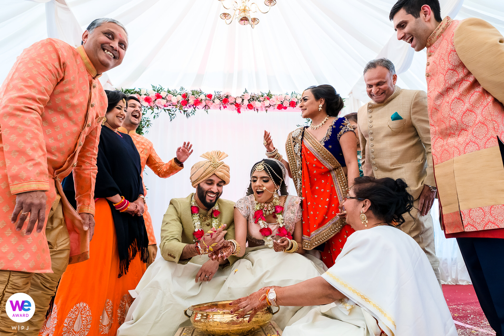 London, UK Indian Wedding Elopement Photography | Koda Kodi - The aim of the game is to find the ring first, using one hand