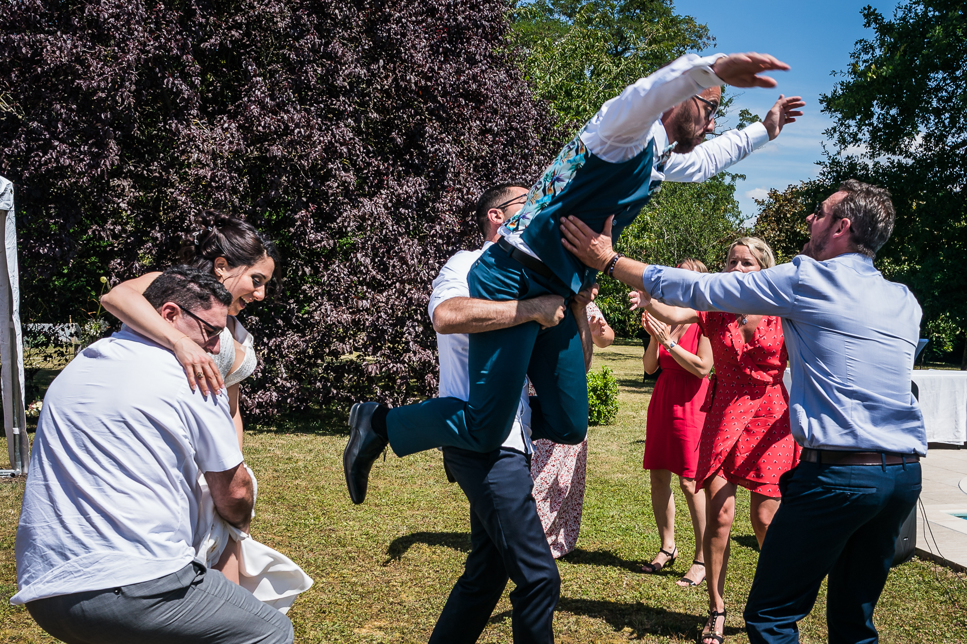 """At Home France Wedding Elopement Images in Orléans 