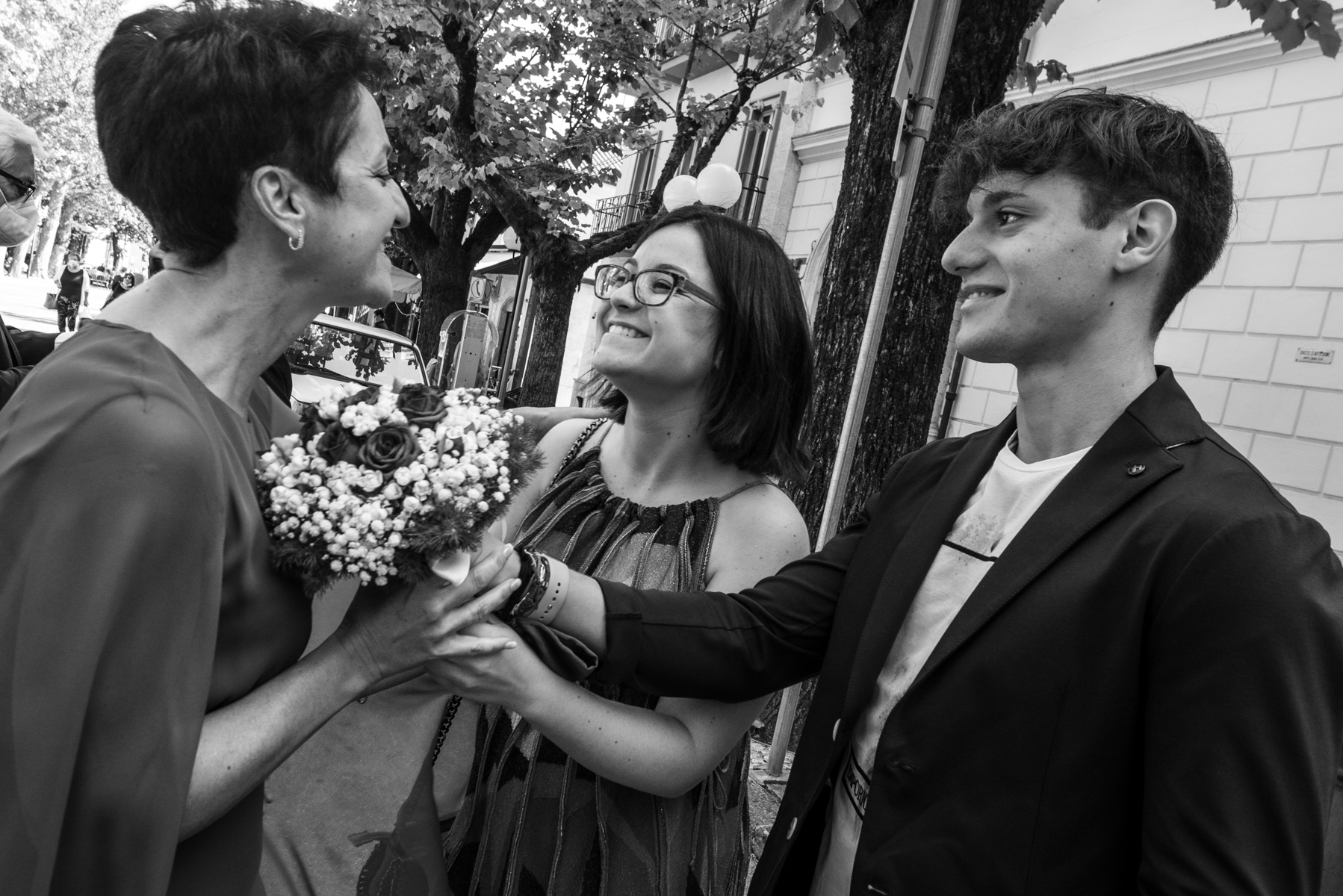 Town Hall Elopement Photo from Tagliacozzo - L'Aquila - Italy | an important and also unusual moment in wedding ceremonies, the children of the bride