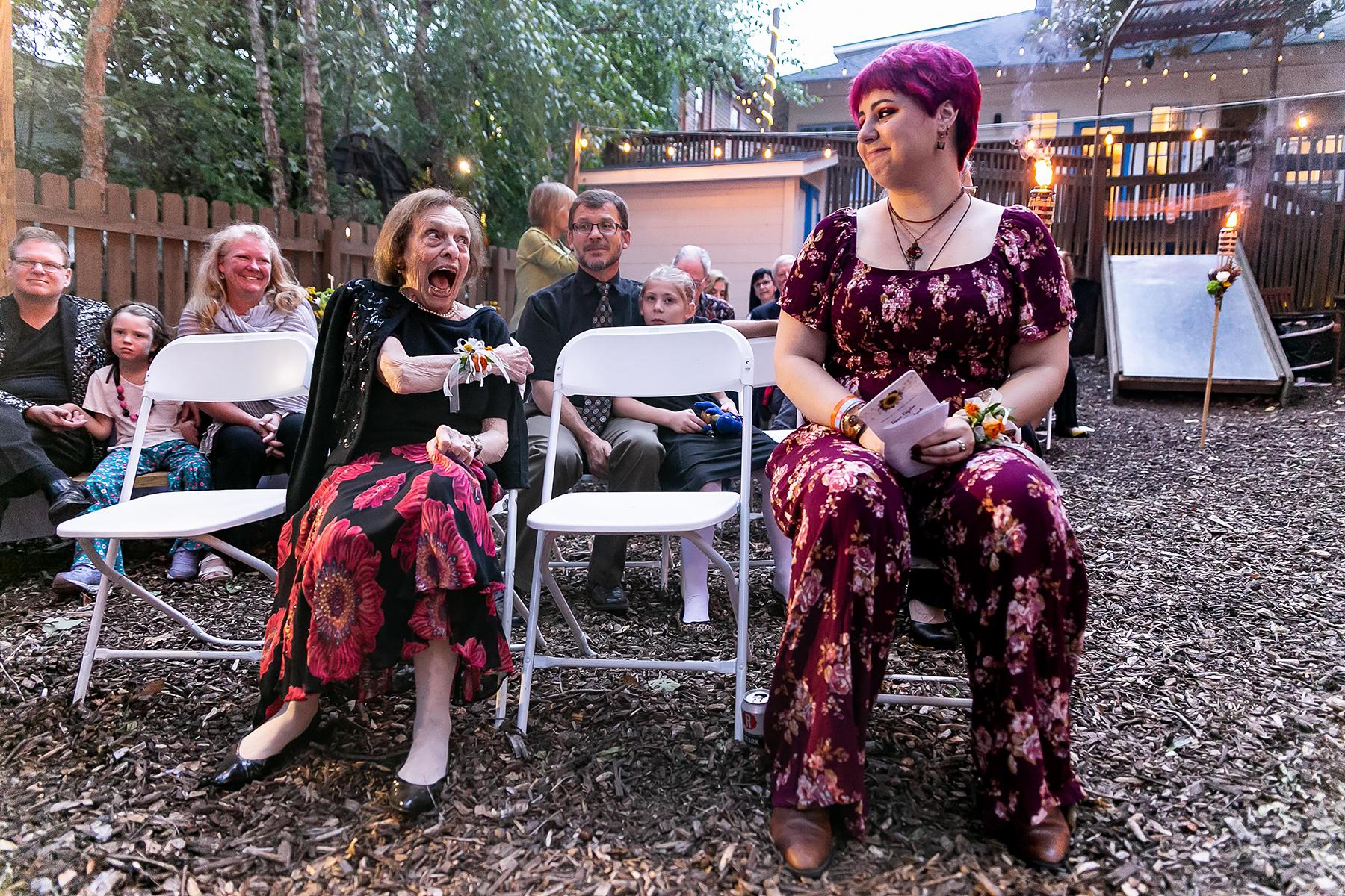喬治亞迪凱特的婚禮和活動攝影| 新娘的姑姑慶祝結婚