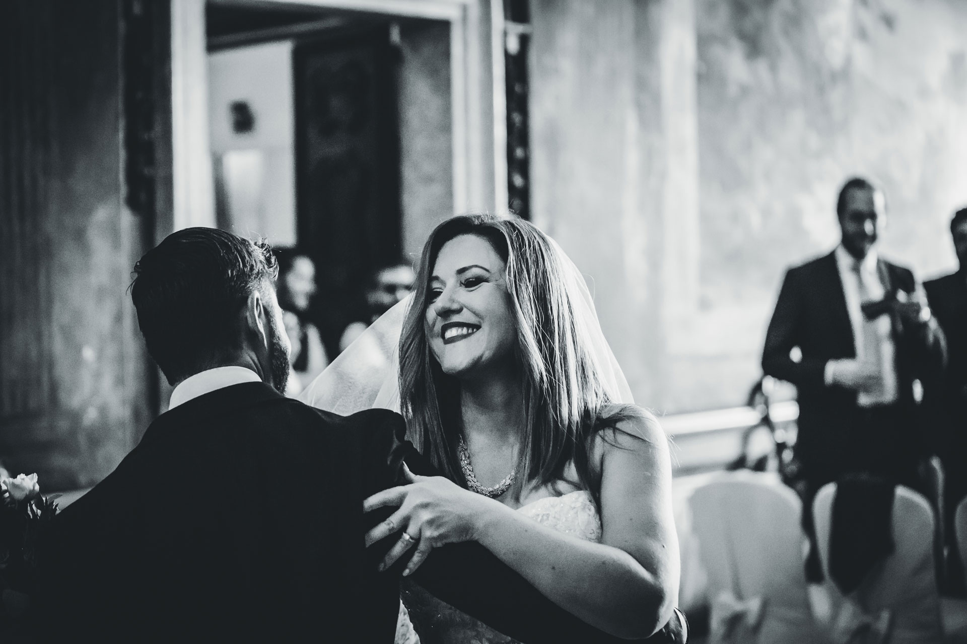 Romantic Ca Sagredo Wedding Photo from Venice - Italy | The couple shares their first dance