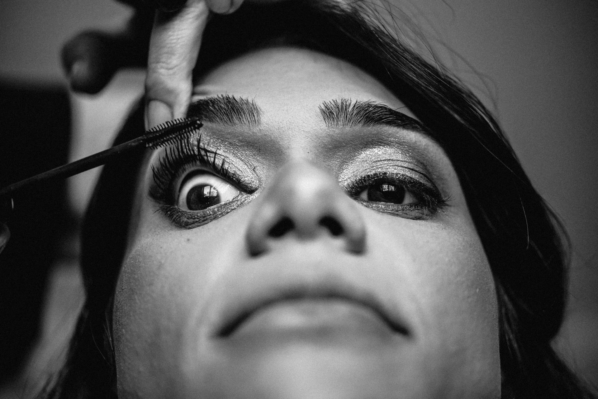 Wedding Photography - Lisbon Portugal | professional makeup applied