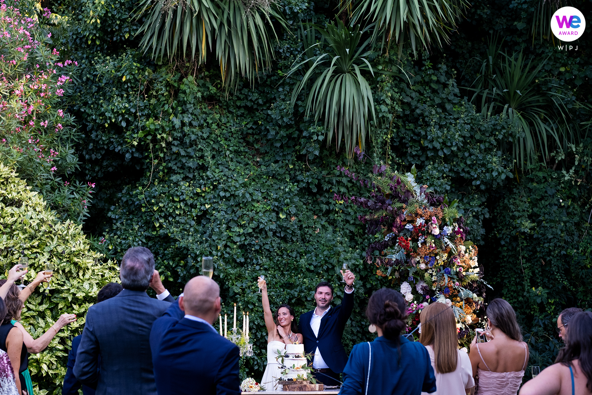 Wedding Photographers for Portugal | natural flora and fauna of Portugal cascading behind them