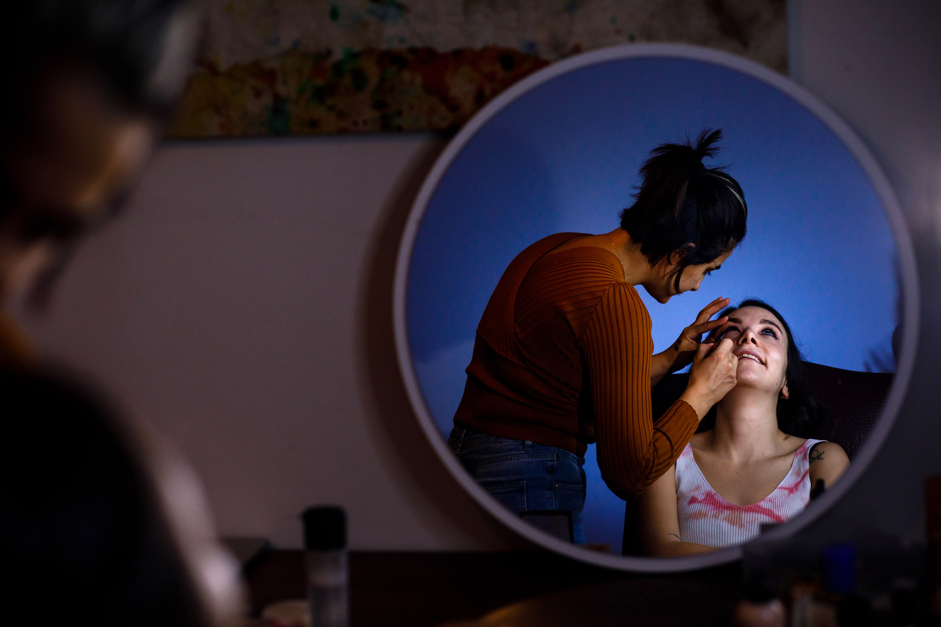 Istanbul, Turkey COVID Wedding Photography | The bride wanted prepare for the wedding at her own home