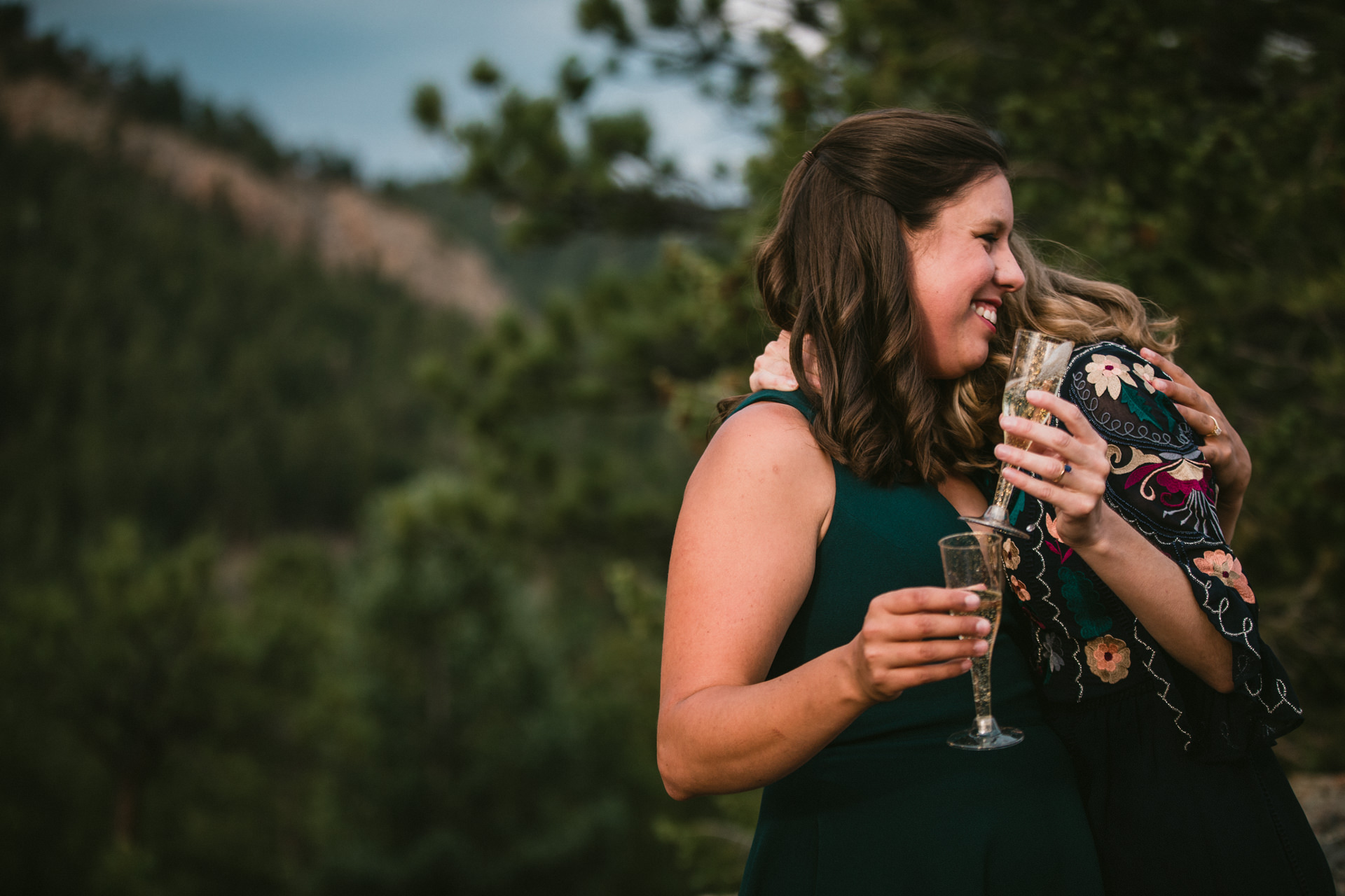 Staunton State Park Destination Wedding Photography | The couple was elated with tears and laughter
