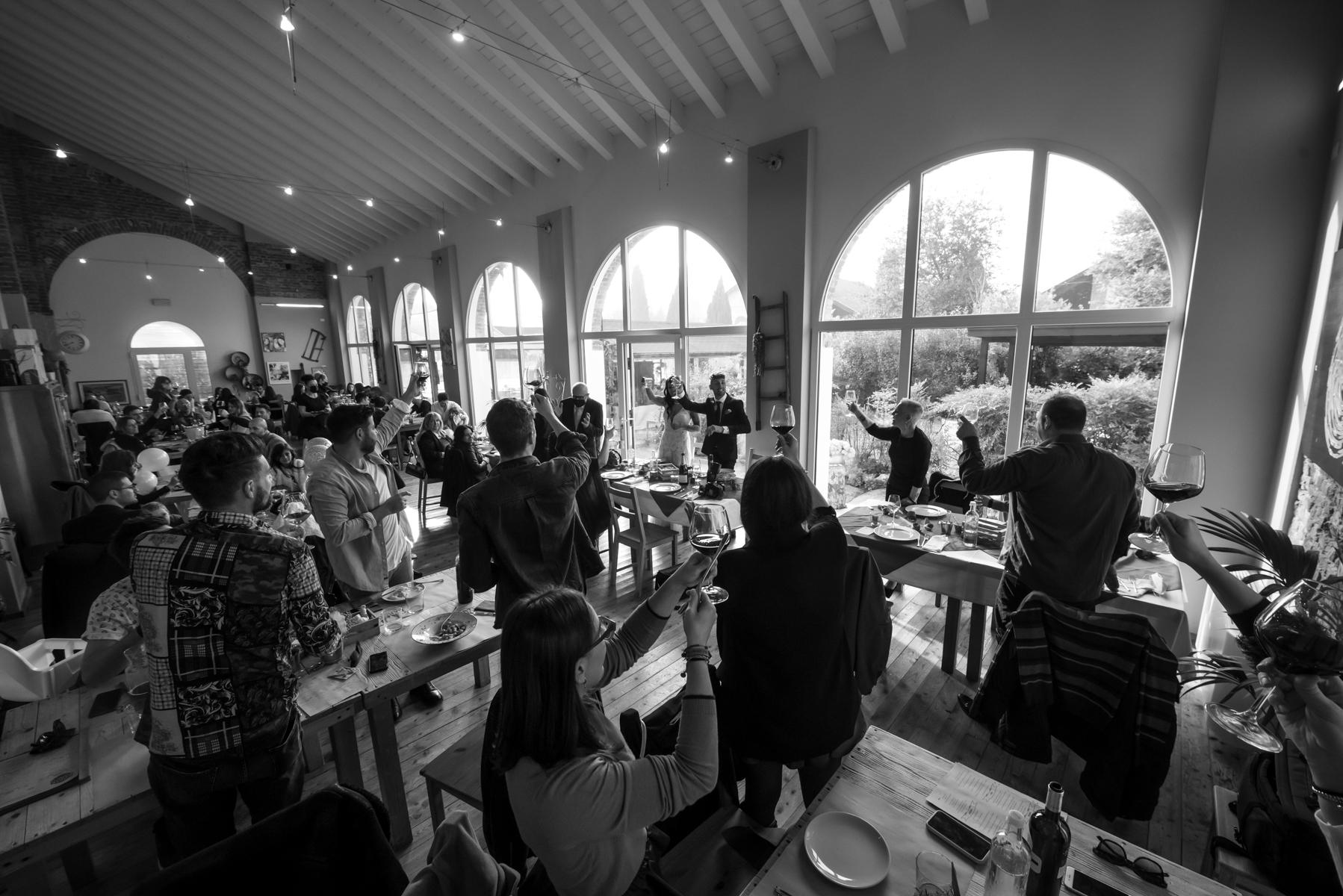 Agriturismo Corte Barco Hochzeitsbilder | Sie konnten nicht Tische mit mehr als sechs Personen haben