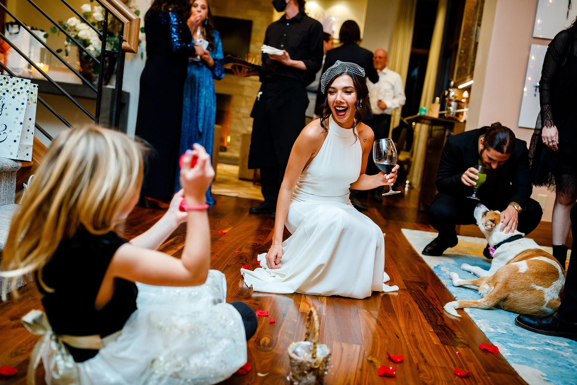 Vail Wedding Photographer - CO Weddings | all the elements of a blissful and playful bride