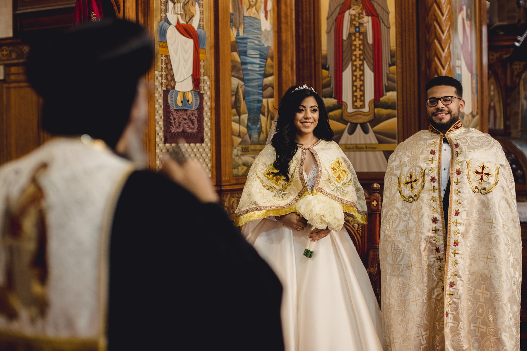 Church Priest Wedding Image from London | traditions are at the forefront of the service,