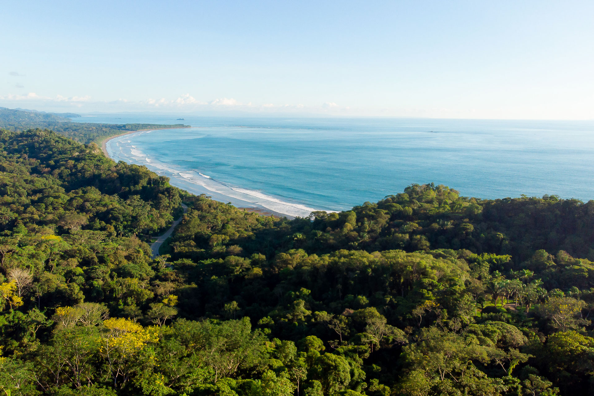 Wedding Photographers for Dominical, CR | A panoramic view of the rainforests