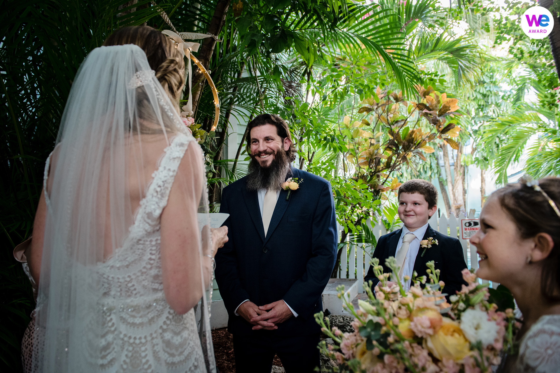 Key West Wedding Photography at Old Town | The vows, which were loaded with love and a dash of humor